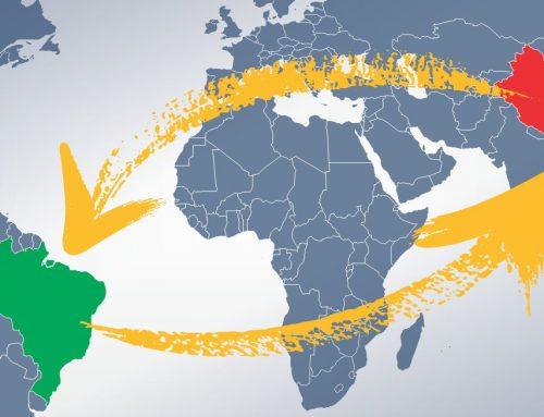 Comércio entre Brasil e China teve alta inédita em 2020