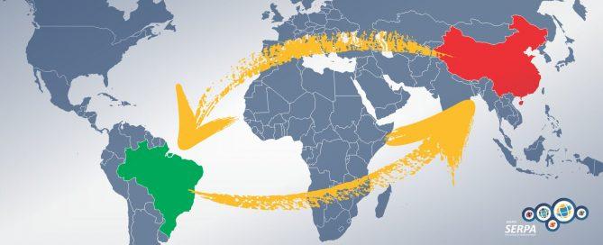 comércio entre brasil e china